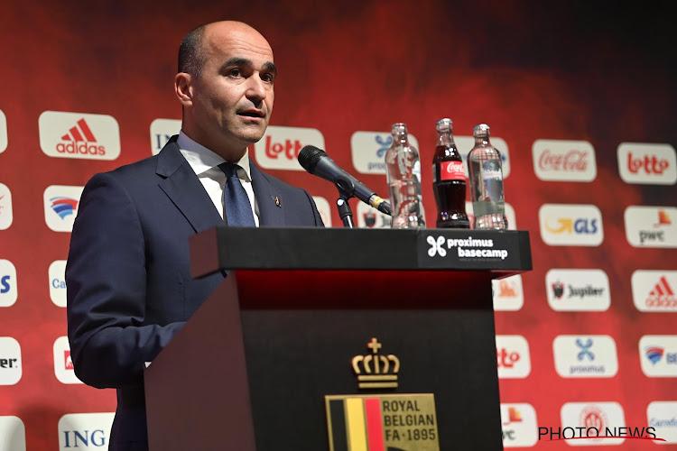 Roberto Martinez laat van zich horen over zijn positie als bondscoach van de Rode Duivels