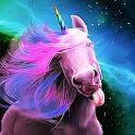 Cartoon Unicorn Live Wallpaper icon