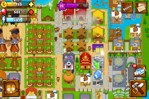 Bloons Monkey City 1.12.1 screenshots 1