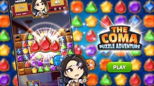 The Coma: Jewel Match 3 Puzzle  screenshots 1