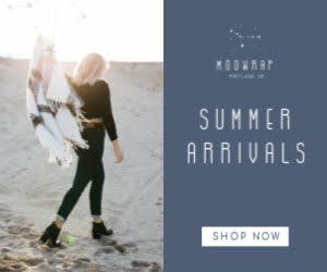 Modwrap Summer Arrivals - Medium Rectangle Ad Template