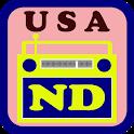 USA North Dakota Radio icon