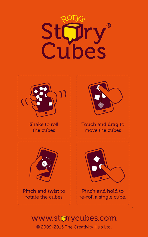 Rory's Story Cubes- screenshot