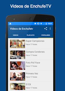 Videos de EnchufeTV screenshot 2
