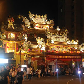 Ciyou Temple by Jed Mitter - Buildings & Architecture Places of Worship ( temple, ciyou temple, raohe street night market, taiwan, taipei )