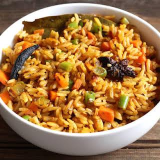 Rice Pulao.