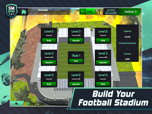 Soccer Manager 2020 - Football Management Game apkpoly screenshots 10