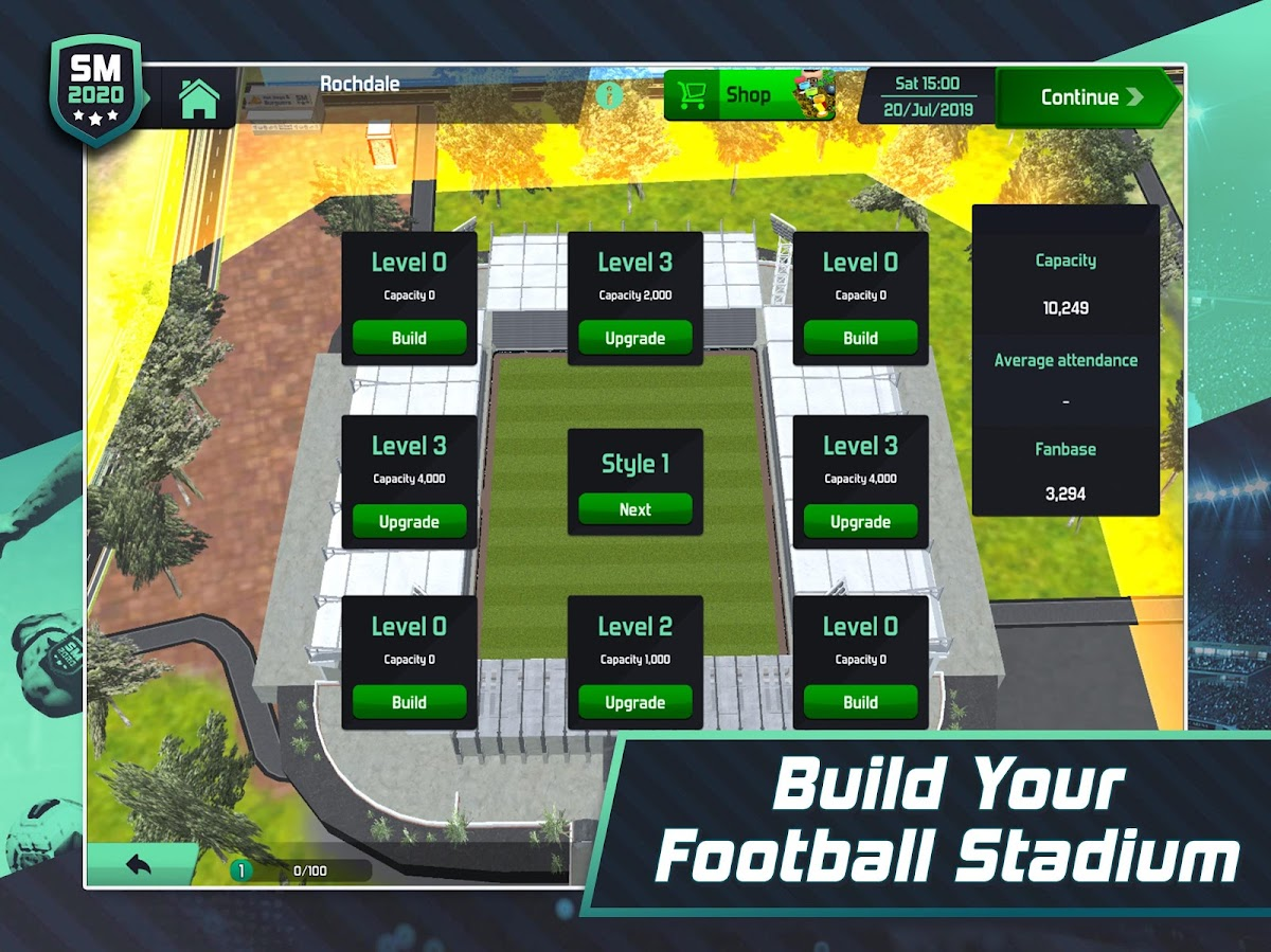 Soccer Manager 2020 - Football Management Game