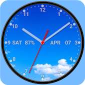 Photo Analog Clock Live Wallpaper-7