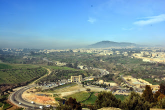 Photo: An overlook of Fes from opposite my hotel
