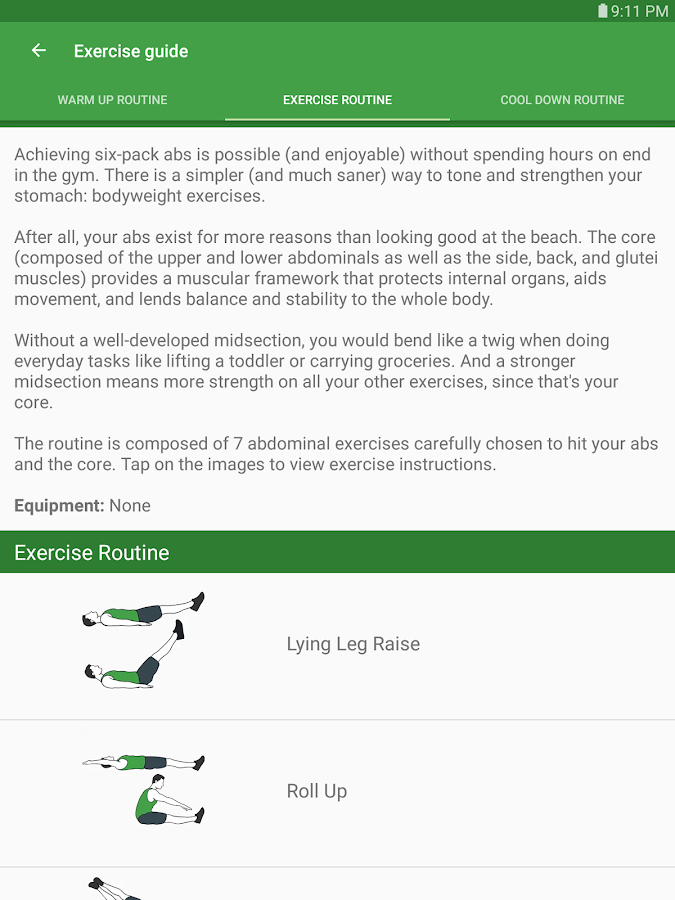 Ultimate Ab & Core Workouts- screenshot