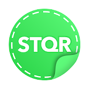 STQR personal stickers maker for whatsapp telegram