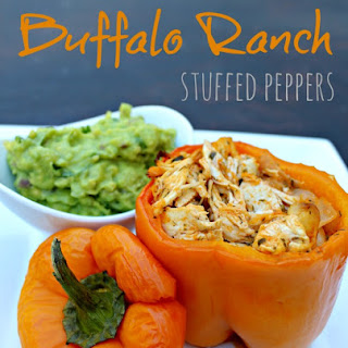 Buffalo Ranch Stuffed Peppers