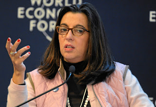 Photo: DAVOS/SWITZERLAND, 28JAN12 - Lourdes Aranda Bezaury, Vice-Minister of Foreign Affairs and G20 Sherpa of Mexico, is captured during the session 'G20 Reality Check' at the Annual Meeting 2012 of the World Economic Forum at the congress centre in Davos, Switzerland, January 28, 2012.Copyright by World Economic Forumswiss-image.ch/Photo by Michael Wuertenberg