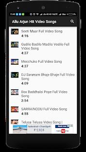 Allu Arjun Best Video Songs - náhled
