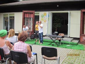 Photo: Marijus Kučikas pristatė koncerto dalyvius.