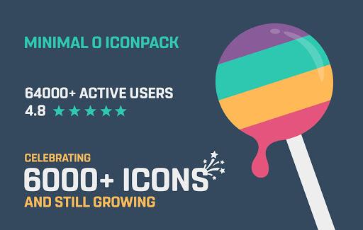 Screenshot for Minimal O - Icon Pack in Hong Kong Play Store