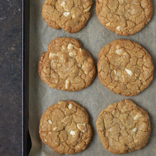 Toffee White Chocolate Macadamia Nut Cookies