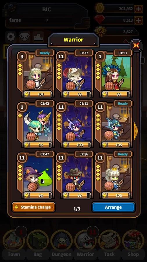Warriors' Market Mayhem- screenshot