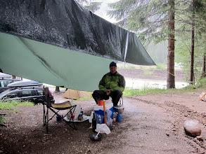 Photo: De retour à Cortina à temps pour un déluge