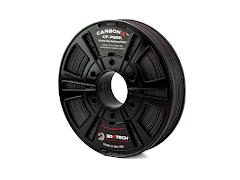 3DXTECH CarbonX Black Carbon Fiber PEEK Filament - (0.5kg)