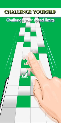 Tap Green‬‏ Tiles:Betting Game