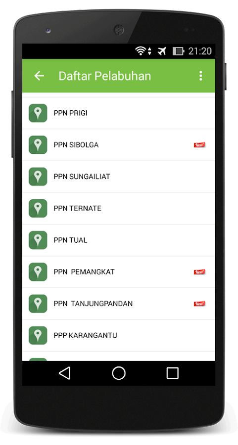 Prakiraan Pasut- screenshot