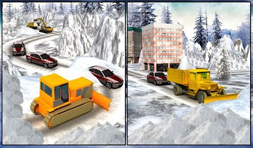 Winter Snow Rescue Excavator - screenshot thumbnail 16