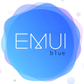 blue emui 5 theme for huawei APK