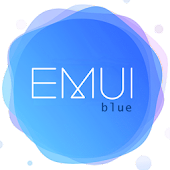Blue Emui 5/8 theme for Huawei