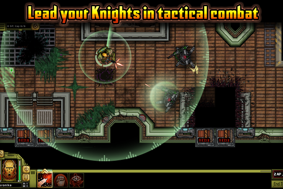 Templar Battleforce RPG: captura de tela