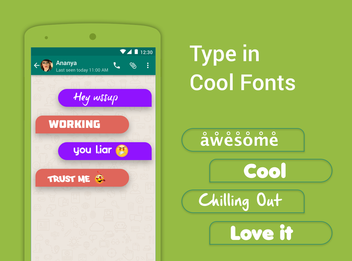 Bobble Keyboard - GIF, Emojis, Fonts, & Themes- screenshot
