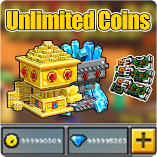 Coins For Pixel Gun 3D Prank- screenshot thumbnail