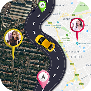 Share Live Location GPS Tracker Maps Navigation 1.7 by Maps Store logo
