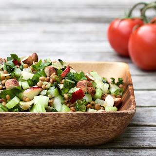 Crunchy Herby Lentil Salad Recipe