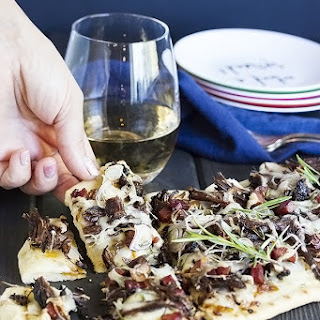 Short Rib Flatbread Pizza with Potato & Bacon Recipe