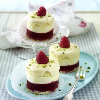 Raspberry Cream Cakes