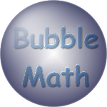 Bubble Math - A fun and challenging math game icon