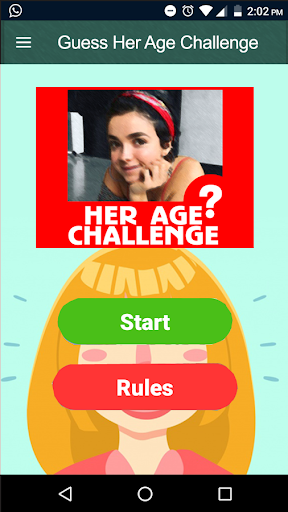 Guess Her Age Challenge Trivia Quiz