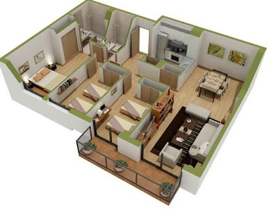 House Layout Design Screenshot Thumbnail