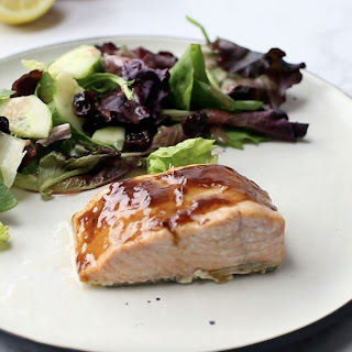 BBQ Broiled Salmon.