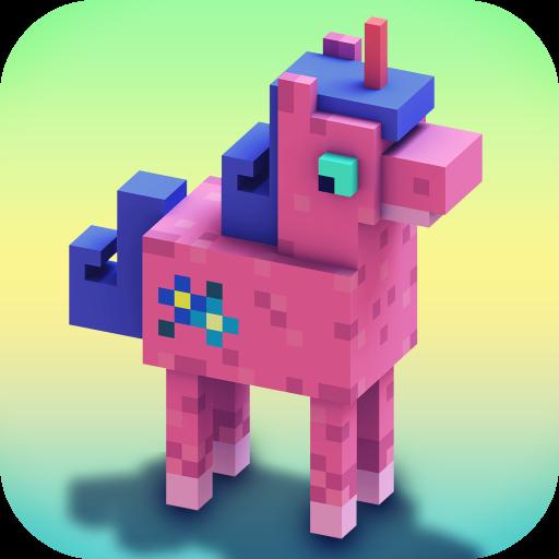 ユニコーンクラフト:建物やクラフト約女の子のためのゲーム 模擬 App LOGO-硬是要APP