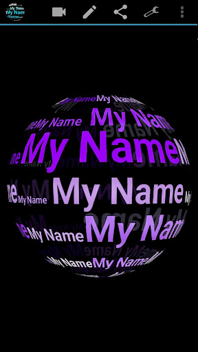 My Name in 3D Live Wallpaper 2.77 Apk for Android 4