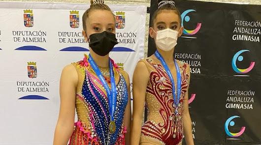 El Club Rítmica El Ejido vuelve a subir al podium en Andalucía