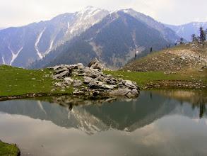 Photo: Druni Lake reflection in lake