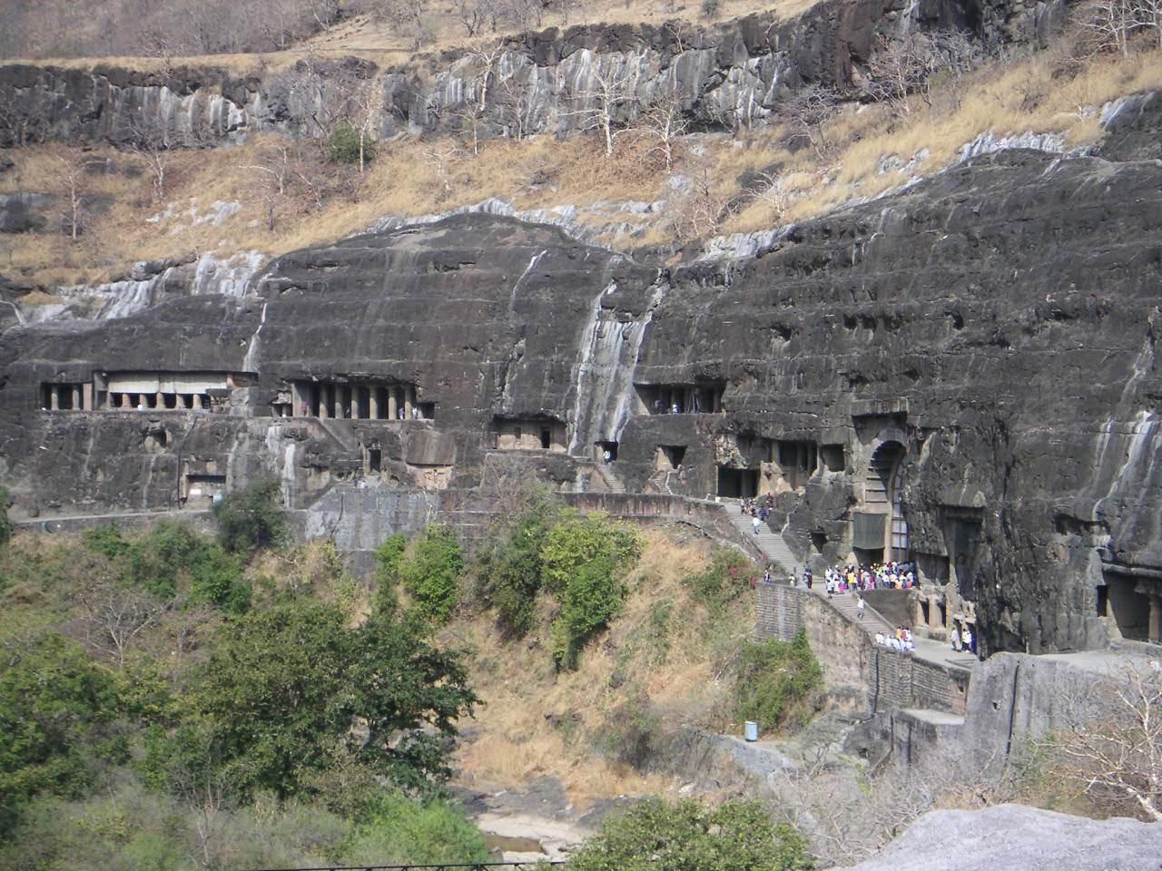 Ajanta Caves, Monuments of India
