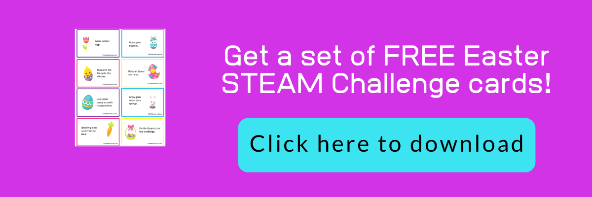 easter stem challenge cards