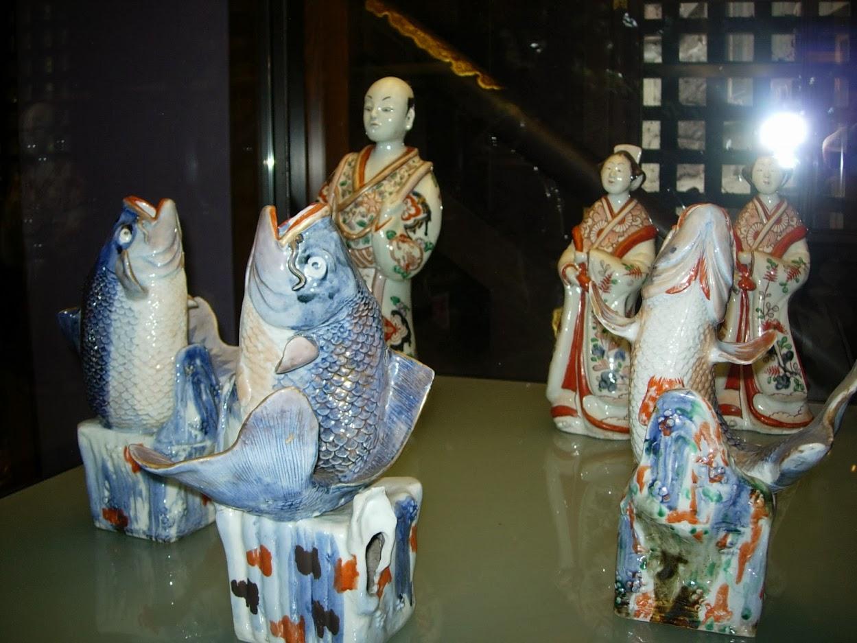 Porcelaines japonaises au Pavillon japonnais à Laeken