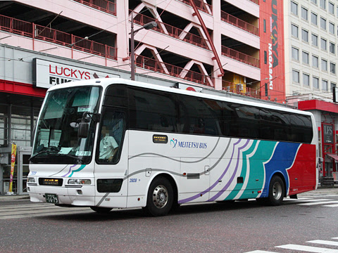 名鉄バス「グラバー号」 1679 長崎新地ターミナル前にて