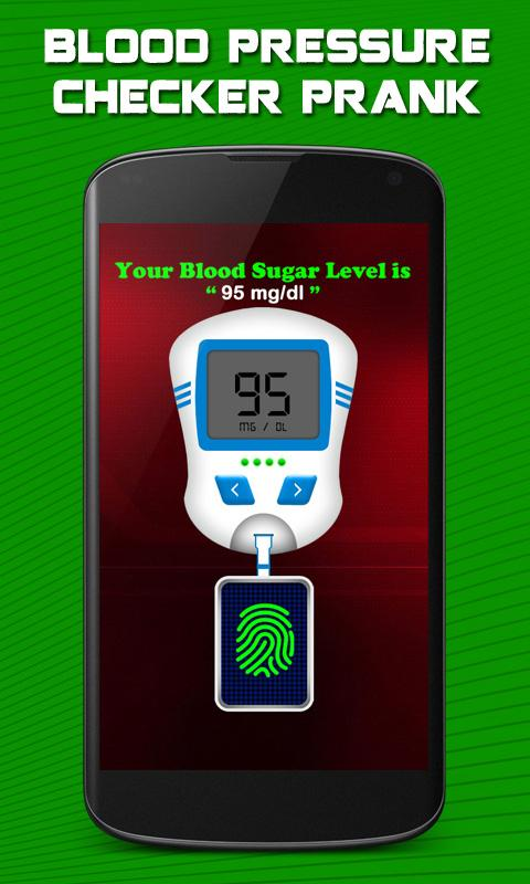 Blood Pressure Checker Prank- screenshot